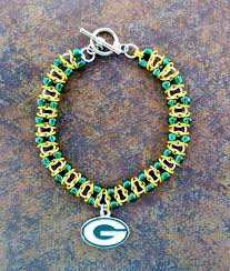fashion bracelet ebay images Amazing chic green bay packers bracelet nfl bracelets ebay classic jpg