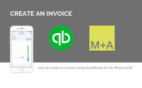 create an invoice quickbooks app for iphone and ipad ios youtube