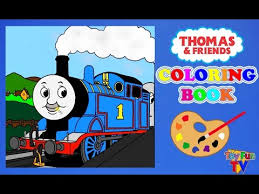 thomas friends coloring book thomas tank engine colour