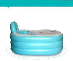 si e baignoire adulte épaissie adulte gonflable baignoire spa pliable portable isolation
