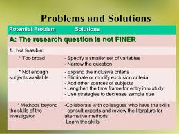 design criteria questions research questions and design