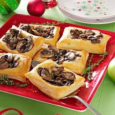 Dinner Ideas For Valentines Day At Home Mixed Mushroom Tartlets Recipe Taste Of Home