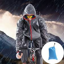raincoat for bike riders men s bike cycling rainwear suits raincoat bicycle riding rain pants