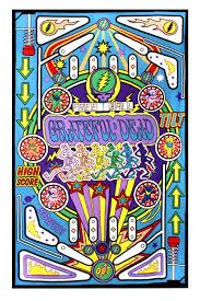 amazon com sunshine joy grateful dead 3d pinball machine tapestry