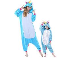 women mens new kigurumi unicorn onesies pajamas cosplay