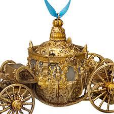 disney store cinderella coach ornament live
