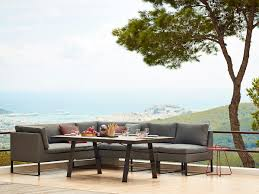 flex lounge and dining outdoor collection by cane line