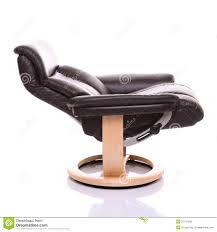 leather recliner chairs fully reclined luxurious leather recliner chair royalty free