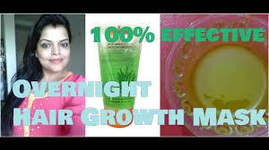 T Gel Shampoo For Hair Loss Overnight Hair Growth Mask Using Patanjali Aloe Vera Gel Castor