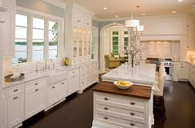 Kitchen Charleston Antique White Kitchen Cabinet Featuring Gray Jll Design Julia Child U0027s Kitchen