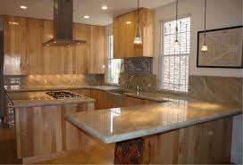 Wood Kitchen Countertops Diy Reclaimed Wood Countertop After