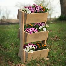 Cheap Planter Boxes by Reclaimed Wood Vertical Garden U2013 Outdoor Planter Boxes U2013 Rustic