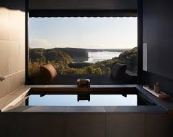 house design news architecture and design news from clad private onsens watsu