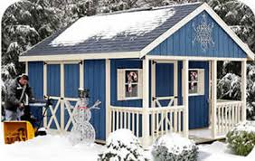 garden shed plans with a covered front porch