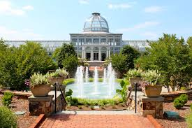 Ginter Park Botanical Gardens Lewis Ginter Botanical Gardens Architecture Richmond