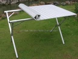 aluminum portable picnic table aluminum portable folding table with powder coated picnics bench