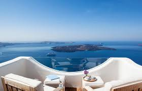 cycladic chic at native eco villa in santorini luxury hotels