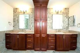 bathroom vanity and cabinet sets vanities vanity with linen cabinet bathroom vanity linen cabinet
