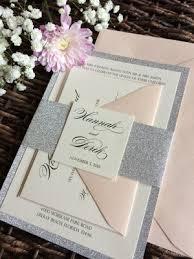 glitter wedding invitations sles cz invitations