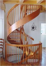 spiral stairs and staircases custom wood circular designs york