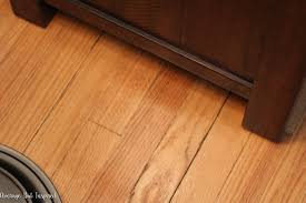 Flooring Finish How To Fix Scratched Hardwood Floors In No Time Average But
