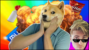Doge Meme Youtube - mlg doge vs cate 360 meme airhorns doritos youtube