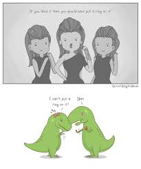 Funny T Rex Meme - t rex discrimination by beyonce is nothing new in comic by