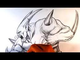 draw omega shenron dragonball gt draw fantasy art