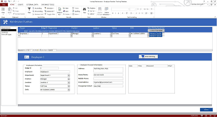 enhanced microsoft access employee vacation tracking database template