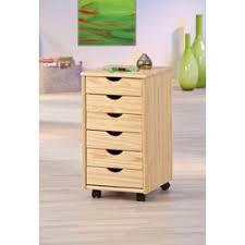 caisson de bureau sur roulettes caisson bureau nils sur roulettes avec 6 tiroirs pin massif