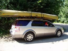 Ford Escape Roof Rack - bwca small suv u0027s boundary waters listening point general discussion