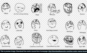 Meme Face Collection - download free vector blog archive free vector meme faces