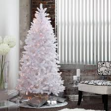 finley home winter park white pre lit tree 7 5 ft http