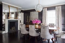 Mirror Dining Room Antiqued Mirrored Dining Room Cabinets Design Ideas