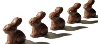 chocolate rabbits easy to make chocolate easter bunnies doityourself