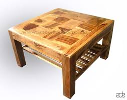 Square Wooden Coffee Table Coffee Table Exporter Manufacturer Supplier Coffee Table India