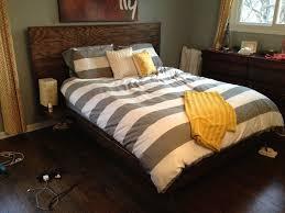bedroom rustic bed frames kropyok home interior exterior designs