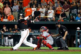 Different Drummers Kitchen Machado U0027s Third Hr Lifts O U0027s To Win In 9th Times Union