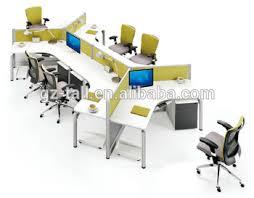 mobilier bureau modulaire personnalisé modulaire mobilier de bureau bureau poste de travail