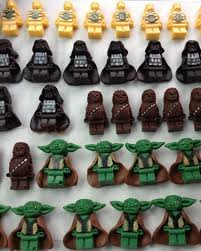 wars edible image wars cupcakes with handmade edible lego minifigs lego