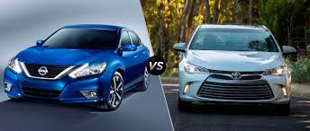 nissan altima 2015 vs 2017 2016 nissan altima vs 2016 toyota camry windsor nissan