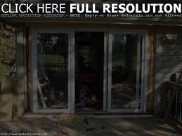 How To Install Sliding Patio Doors Backyards Installing Sliding Glass Dog Door How To Install A