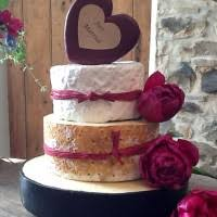 west country cheese pork pie and cheese celebration cake