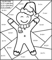 freebie color by number addition and subtraction tpt free