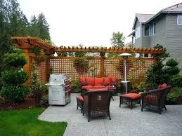 Small Back Garden Landscape Ideas Side Yard Privacy Landscaping Creative Of Small Backyard Privacy