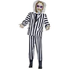 Animated Halloween Skeleton life sized beetlejuice animated prop 350597 trendyhalloween com