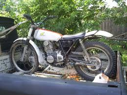 vintage honda ny vintage trials bike and my hauler classic trials trials central