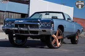 rose gold car chevrolet impala dub x84 baller wheels brushed w rose gold tint