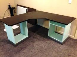 How To Build An Office Desk Computer Desk Table How To Build A Simple Desk Large Size Of