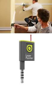 transform your phone into a smart laser pointer and transfer level